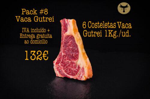 Pacote 8 Vaca Gutrei (6 pedaços de lombo)