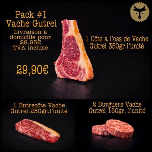Pack 1 Vache Gutrei