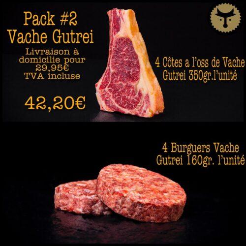 Pack 2 Vache Gutrei