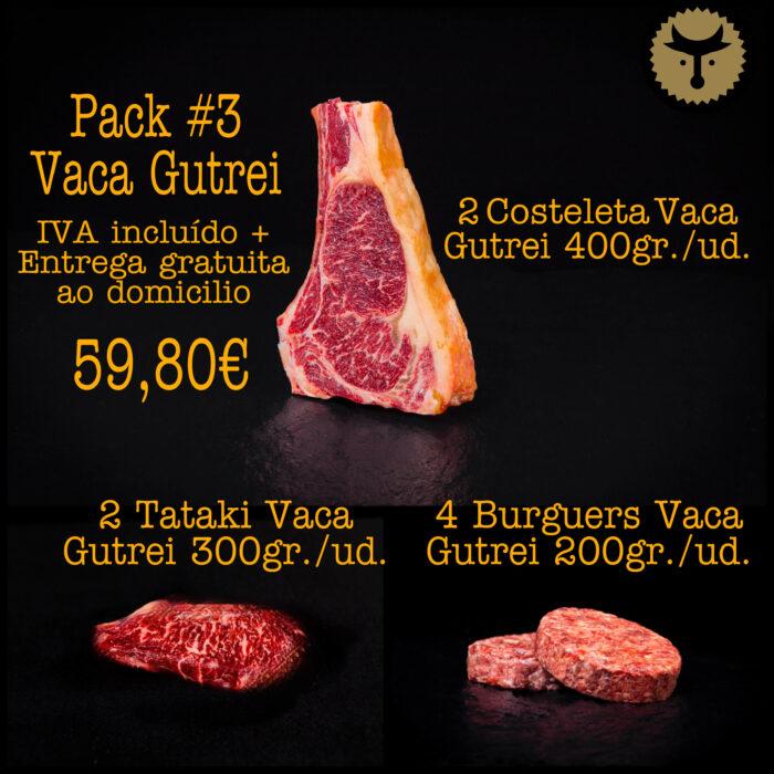 Pacote 3 Vaca Gutrei