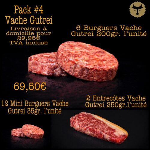 Pack 4 Vache Gutrei