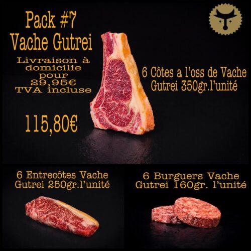 Pack 7 Vache Gutrei