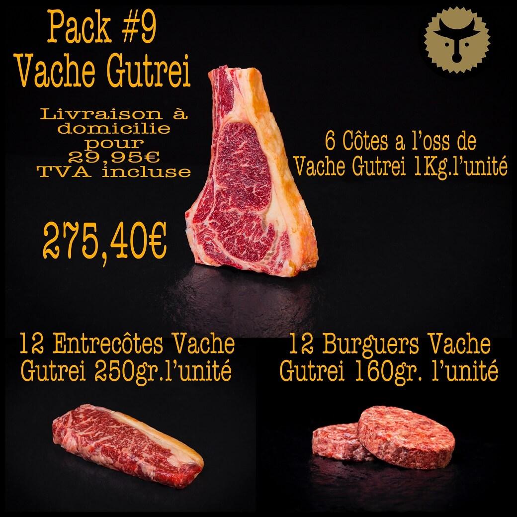 Pack 9 Vache Gutrei