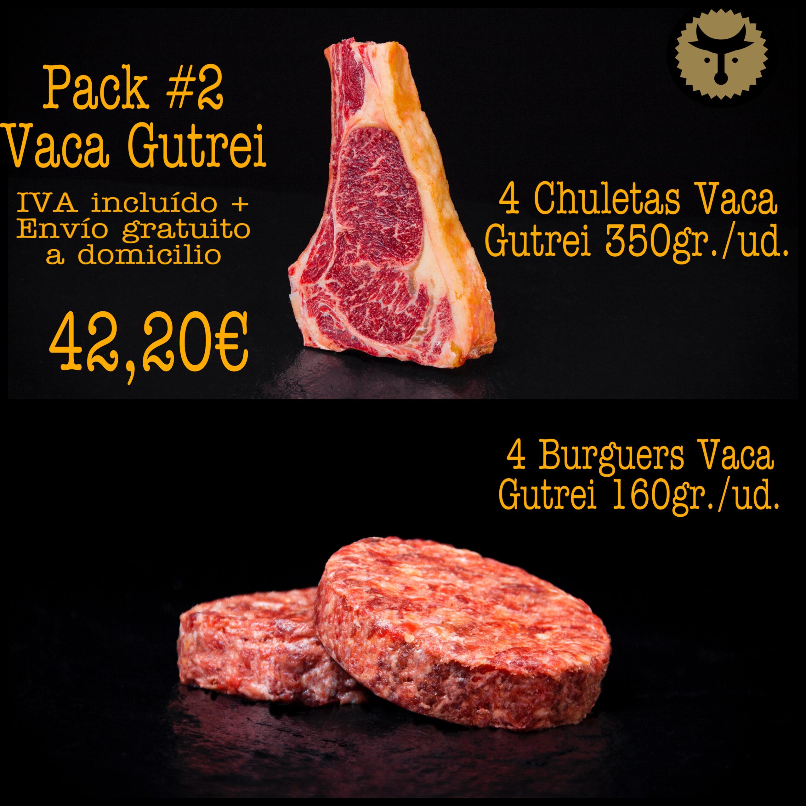 Pack 2 Vaca Gutrei
