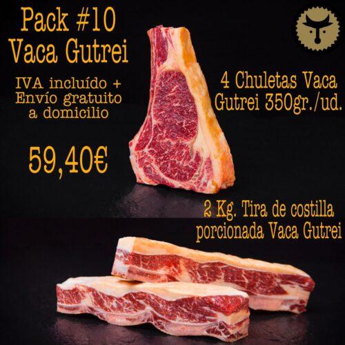 Pack 10 Parrilla Vaca GUTREI