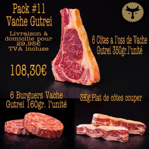 Pack 11 Vache Gutrei